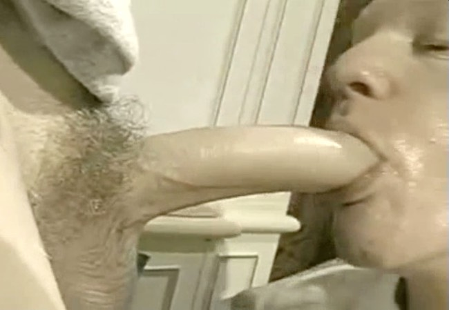 Sucking Long White Dick